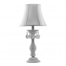 726911 (MT100007-1) Настольная лампа PRINCIA 1х40W E27 белый/прозрачный (в комплекте)