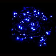 Гирлянда синяя IP20 5м 50PCS 3.6W220V с контроллером светодиодная