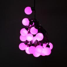 """Гирлянда """"Шарики большие"""" розовые IP44 5м 50PCS 8W220V светодиодная"""