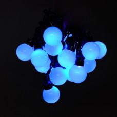 """Гирлянда """"Шарики большие"""" синие IP44 5м 50PCS 8W220V светодиодная"""